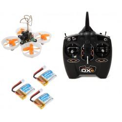 Dron Competición FPV  con Radio Spektrum + 3 baterías de regalo.